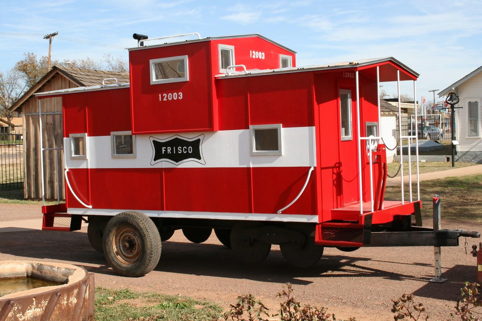 Tillman County Chronicles: Replica Rail Car Giveaway