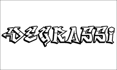 Degrassi Free Font Graffiti
