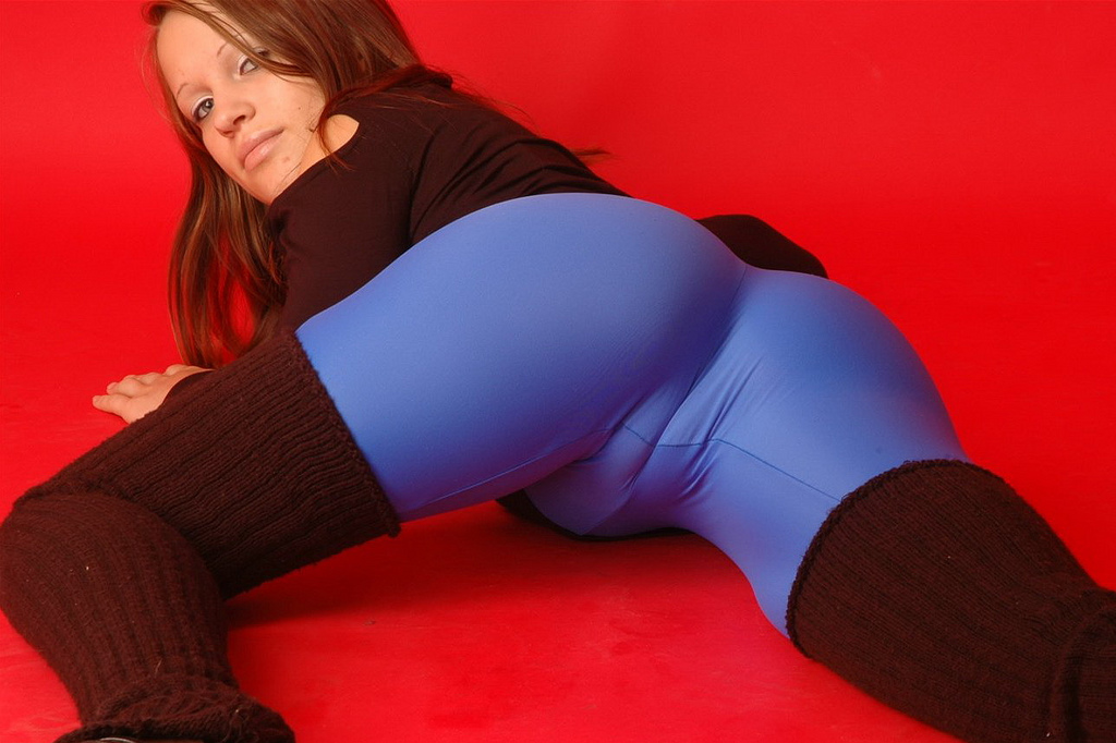 Culona de leggins blancos - 3 part 5