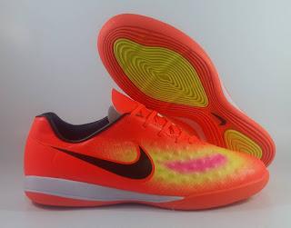 Nike Magista Onda II Futsal IC Orange Sepatu Futsal, jual sepatu futsal, harga nike magista , magista onda 2, magista futsal IC