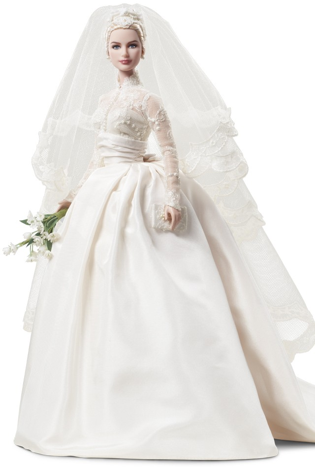 e1cd5f0064f3 Grace Kelly Barbie dolls will be available in four different variations.  The Grace Kelly To Catch A Thief Barbie made her debut in earlier this  summer.