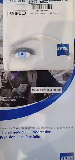 Zeiss Duravision Blue protect Lens