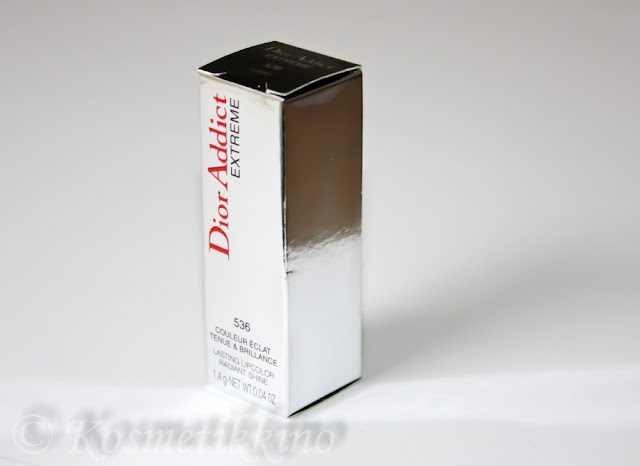Dior Addict Extreme Lippenstift 536 Lucky Swatch Tragebilder Review Kate Moss
