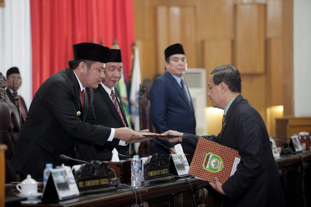 DPRD Sumsel Gelar Rapat Paripurna Pengambilan Keputusan tujuh Raperda