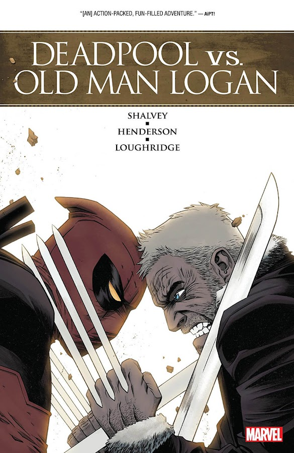 deadpool vs old man logan comics