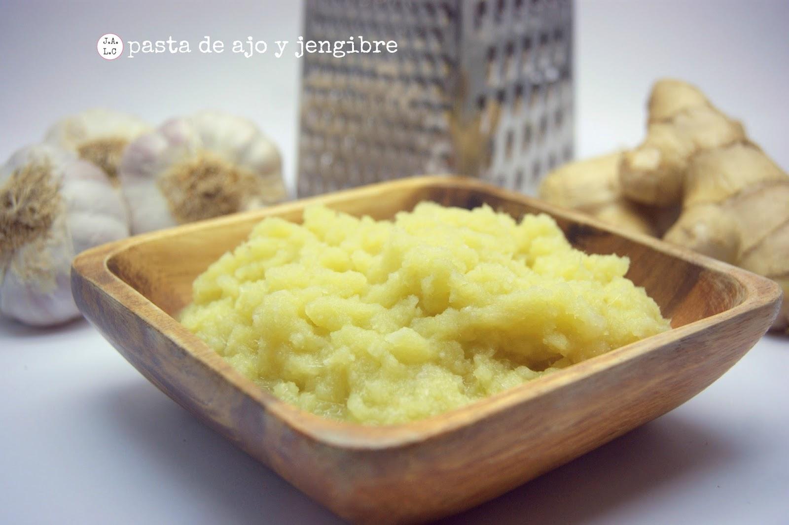 Jugando a las cocinitas: Pasta de ajo y jengibre. Receta para cocina ...