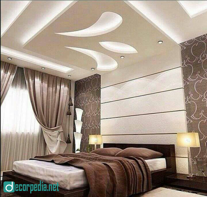Modern Interior Decoration Living Rooms Ceiling Designs: Modern False Ceiling Design Photos For Bedroom