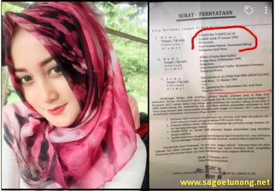 Artis ACEH Mutia Lifyana Tertangkap Pegawai SPBU Sedang EHEM - EHEM Di Mobil