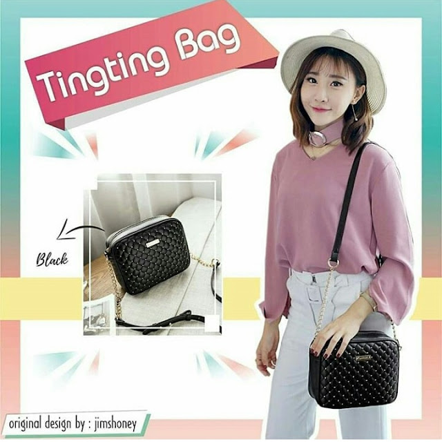 Jims Honey Ting Ting Bag Black