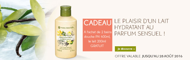 yves rocher promo aout 2016