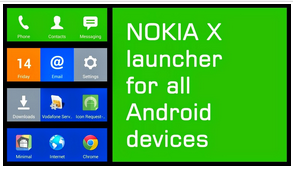 How to Change Display Android Becoming Nokia X (Download Launcher)