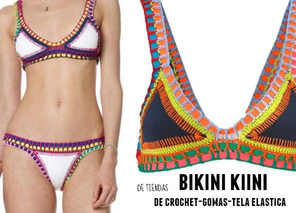 Bikini Kiini entre crochet y gomas