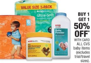 CVS baby items