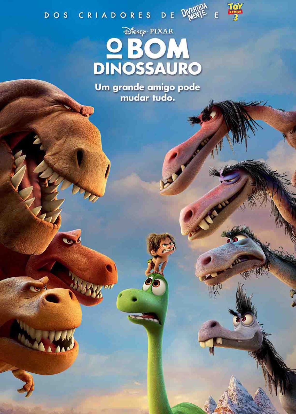 O Bom Dinossauro Torrent – Blu-ray Rip 720p e 1080p Dual Áudio (2016)