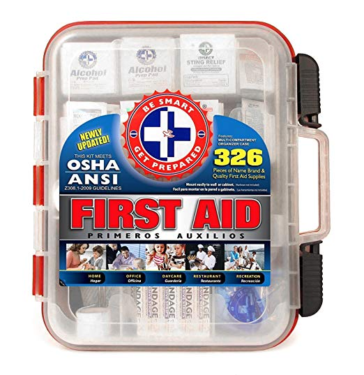 First Aid Kit - 326 Pieces