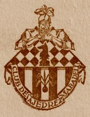 Emblema del Club de Ajedrez Sabadell