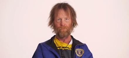 Homeless Veteran Timelapse Transformation | Vom Obdachlosen zum 'Dressman' ( 1 Video - Zeitraffer )