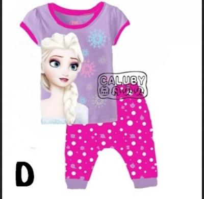 baju anak perempuan lucu gambar frozen