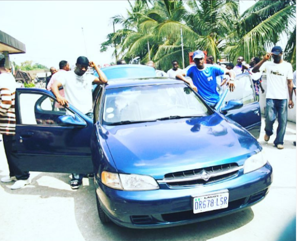 MONEY IS GOOD!!! PSQUARE SHARES THROWBACK PHOTO OF THEIR FIRST CAR IN 2005