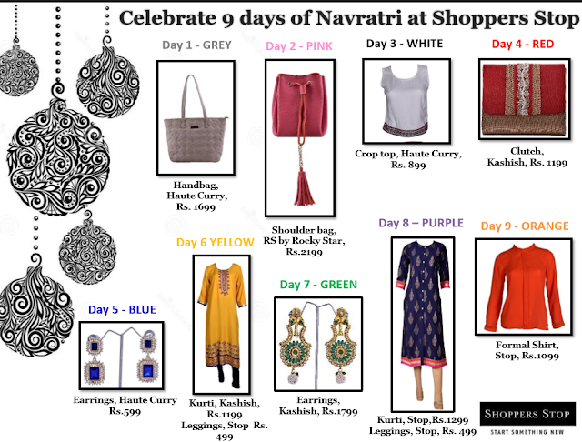 Shoppers Stop - 'Celebrat​e 9 days of Navratri