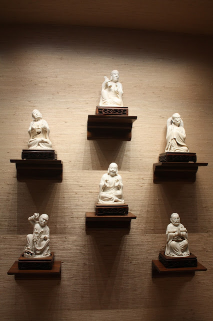 Sculptures at Lizzadro Museum of Lapidary Art in Elmhurst, IL