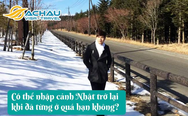 co the nhap canh nhat tro lai khi da tung o qua han khong