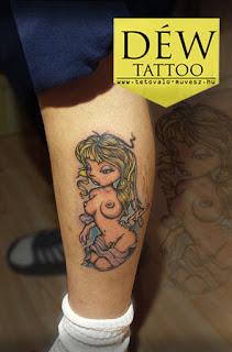 Pin up tattoo Szeged