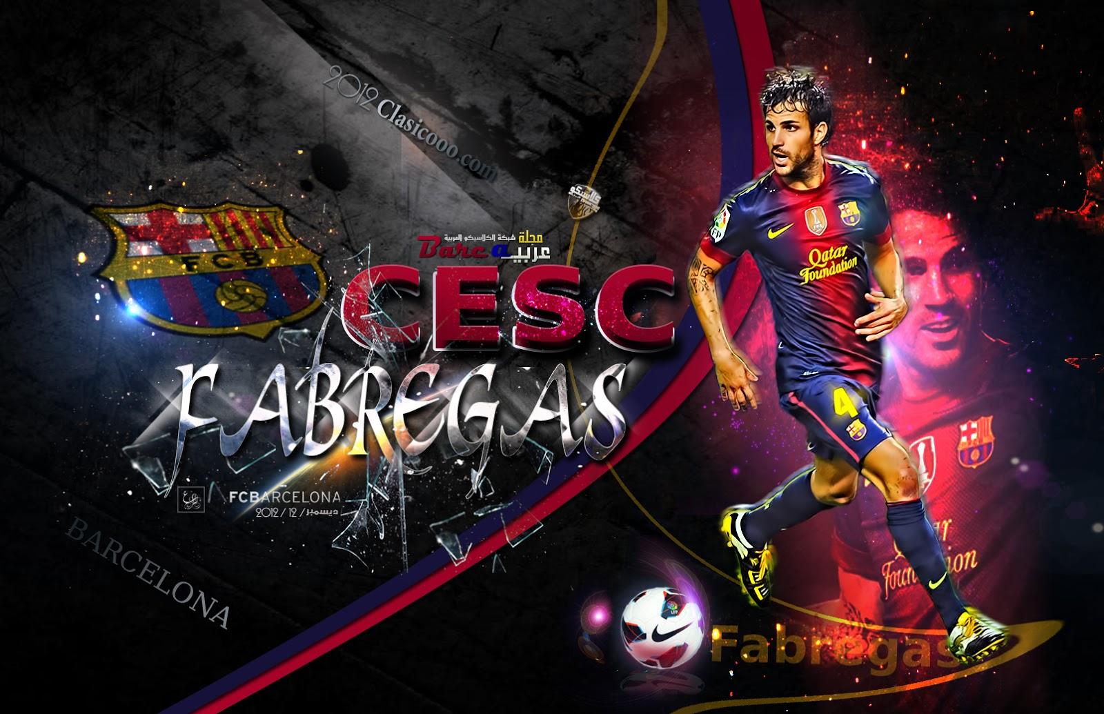 Cesc Fabregas HQ Wallpapers 2013-2014