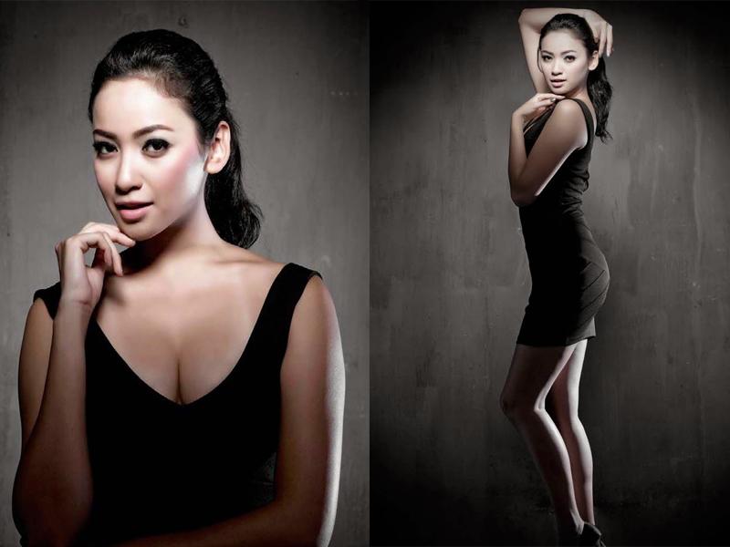 Agni Pratista miss Infonesai kelihatan pamer cewek cantik dan indah