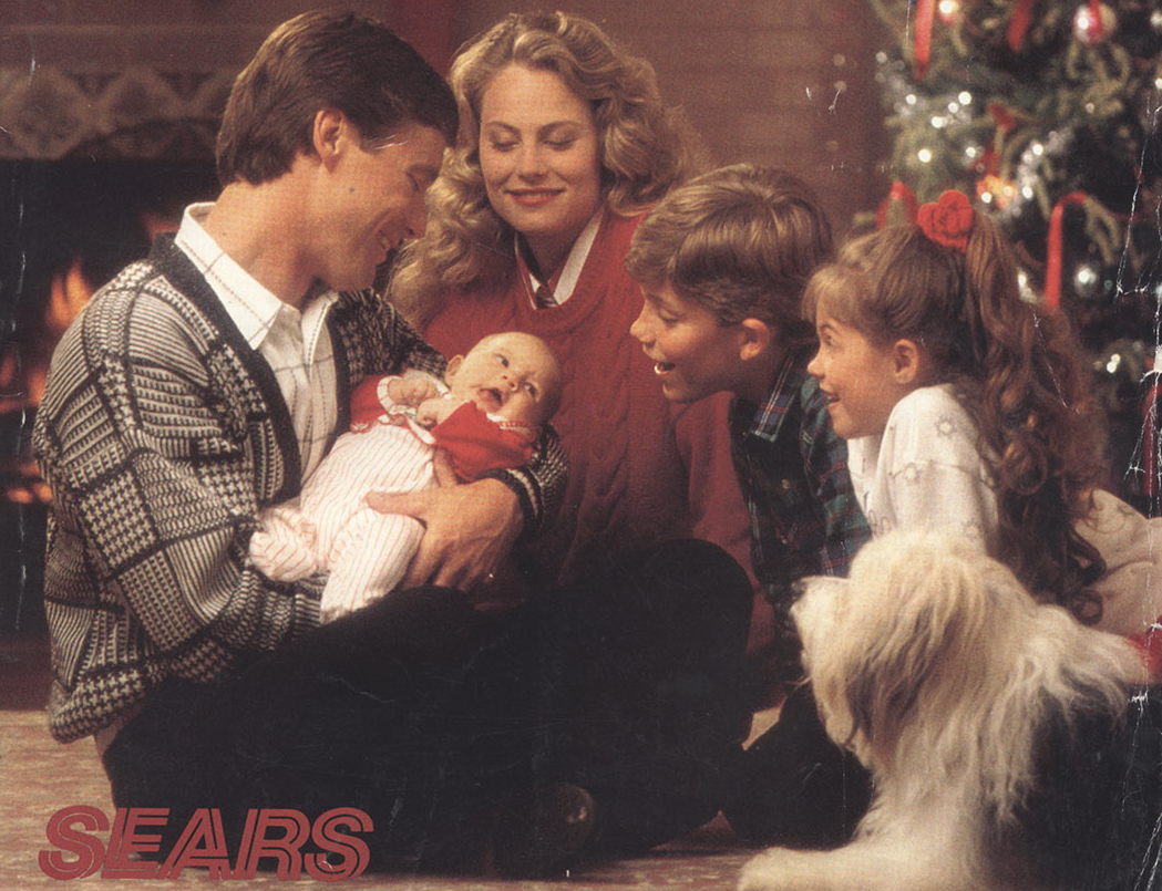 Sears Christmas Wish Book.1989 Sears Christmas Wishbook Shopping Spree Rediscover