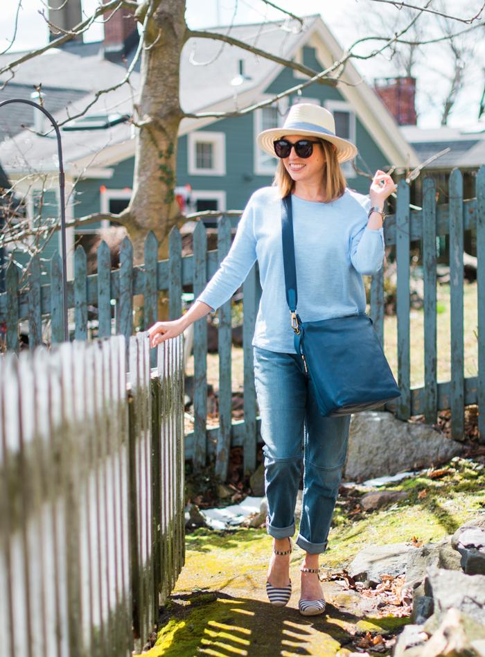 J.Jill linen cotton pullover