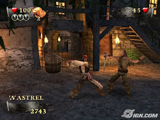 Piratas do Caribe: No Fim do Mundo (PS2) 2007