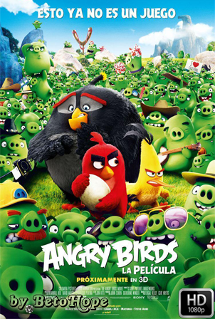 Angry Birds, La Pelicula [1080p] [Latino-Ingles] [MEGA]