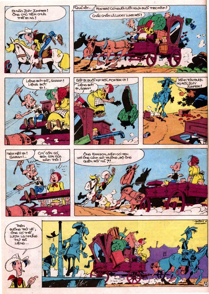 Lucky Luke tap 7 - ten billy the kid trang 22