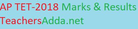 AP TET-2018 Marks & Results