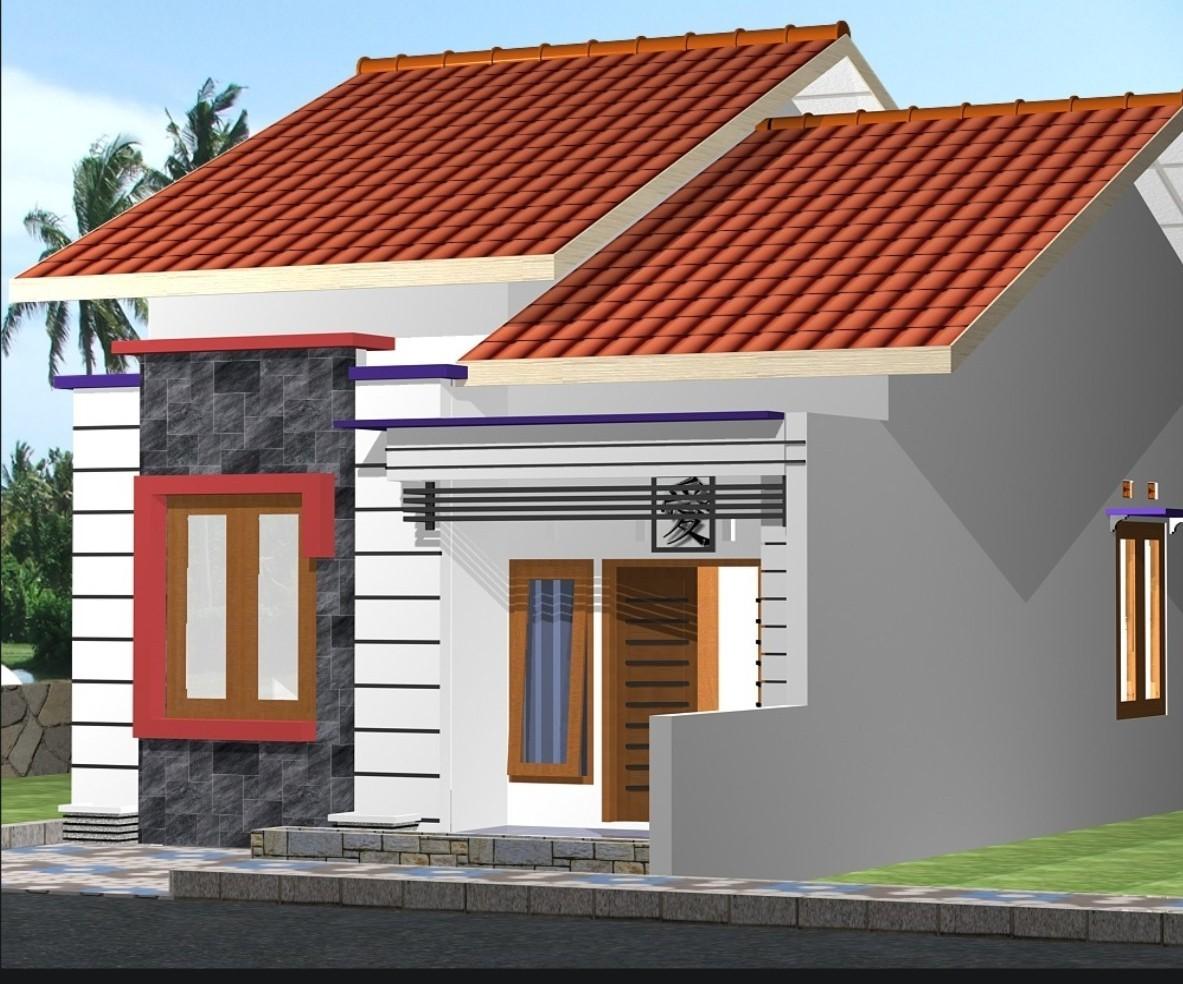 model rumah kecil sederhana 1