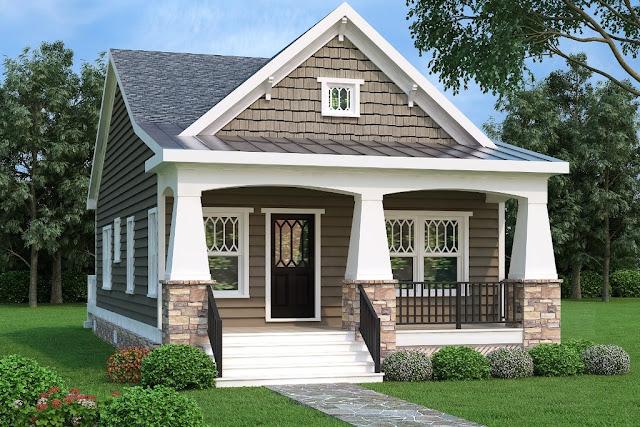dom w stylu amerykańskim