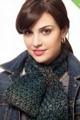 http://www.yarnspirations.com/pattern/knitting/keyhole-scarf-1