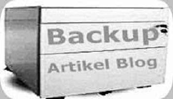 Langkah Mudah Cara Backup Artikel Blog di Komputer  Agar Aman