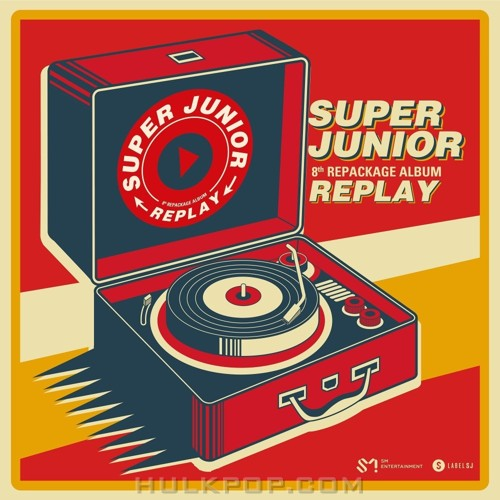 SUPER JUNIOR – REPLAY – The 8th Repackage Album (ITUNES PLUS AAC M4A)