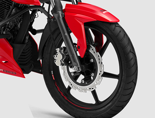 New 2018 TVS Apache RTR 160 4V front wheel