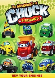 The Adventures of Chuck and Friends rev your engines cover