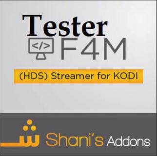 F4m Tester Addon Kodi Repo url 18 Leia,17 6 - New Kodi