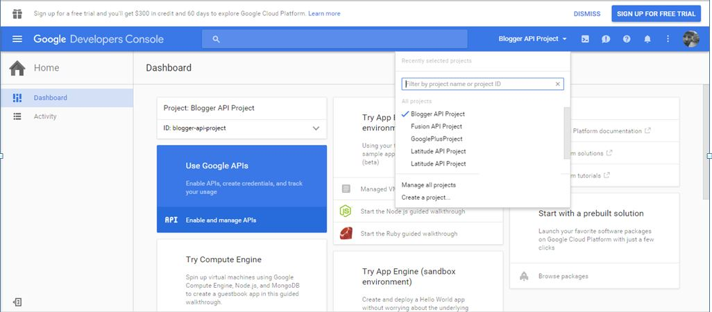 Paul's Geek Dad Blog: Google API Access Using OAUTH2 0