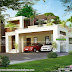 2573 square feet modern flat roof home with budget
