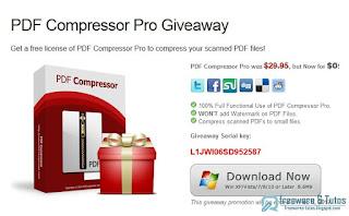 Giveaway : PDF Compressor gratuit !