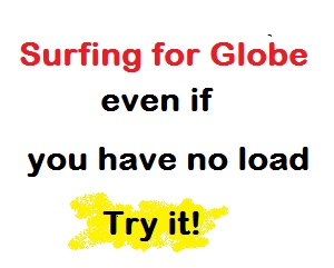 Surfing Globe Without Load