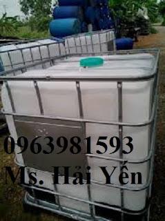 Cung cấp bồn chứa hóa chất, bồn nhựa 1000l, thùng hóa chất 1000 lít