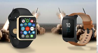 Relojes Apple y Google