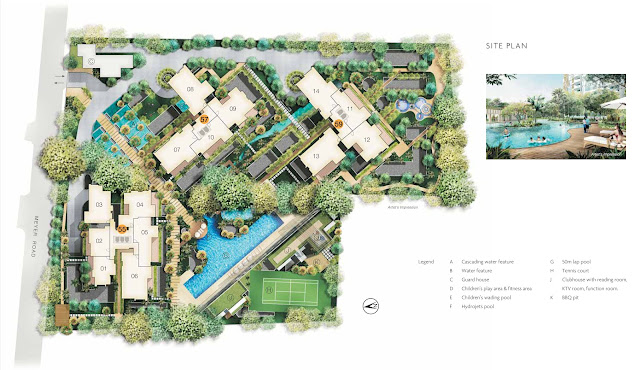 The Seafront on Meyer Site Plan